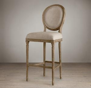 Hot Sale Wooden Louis Bar Stool Chair pictures & photos