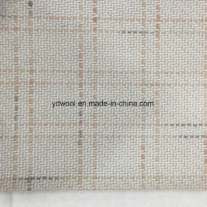 Weave Check Wool Fabric in Ready pictures & photos