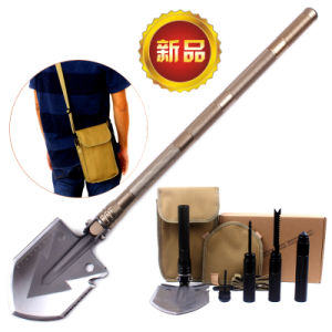 2017 New Style Chinese Professional Military Tactical Multifunction Shovel Outdoor Camping Survival Folding Spade Tool Equipment pictures & photos