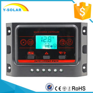 12V/24V 20AMP Backlight Duo-USB 5V/2.5A Solar Charge Controller Ysn-20A pictures & photos