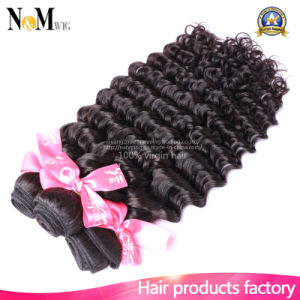 6A Unprocessed Curly Brazilian Virgin Hair Extension Deep Wave 100% Human Hair Weaving Weft pictures & photos