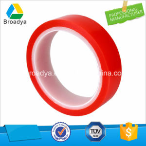 Double Sided Polyester Red Film Liner Adhesive Tape for Solar Cell pictures & photos