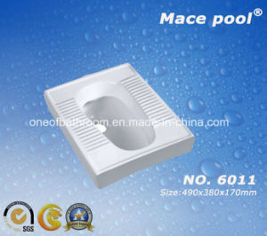 Ceramic Squatting Pan for Bathroom (6011) pictures & photos