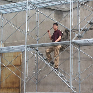 Cangzhou Manufacturer Steel Open End Frame Scaffolding pictures & photos
