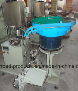 Glass Sealant Plastic Cartridge Semi Auto Filling and Capping Machine pictures & photos