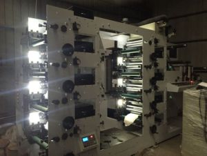 Flexographic Printing Machine with Two Printing Unit 8 Color pictures & photos