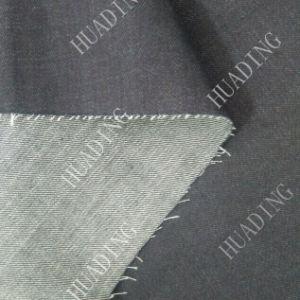 Sulphur Black Denim Jeans Fabric (HD1599) pictures & photos