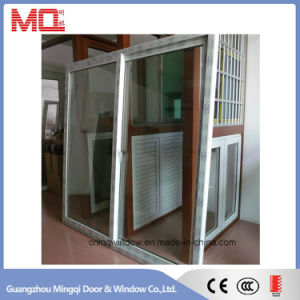 Conch UPVC Profile Tempered Glass PVC Doors and Windows pictures & photos
