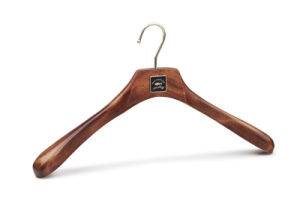 Ash Wood Luxury Wooden Male/Female Clothes Hanger pictures & photos
