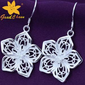 Stse-16113003 Flower Fashion Sterling Silver Pendants Earrings