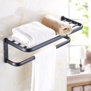 FLG Oil Rubbed Bath Towel Rack Hanger Bathroom Accessories pictures & photos