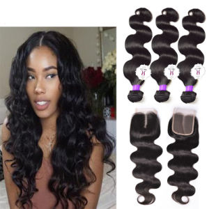 Brazilian Virgin Hair 4 Bundles Brazilian Body Wave Virgin Brazilian Hair Body Wave Remy Human Hair Bundles pictures & photos