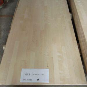 E0 Standard Birch Finger Joint Board (Worktops/Countertops) pictures & photos
