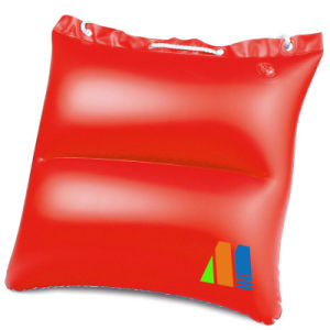 Waterproof Portable 2 in 1 Inflatable Beach Pillow or Handbag pictures & photos