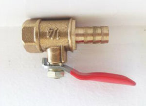 1/4′′ Selling-Well Brass Gas Valve pictures & photos