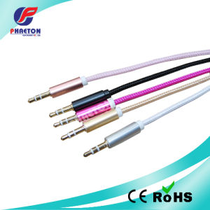 3.5mm Stereo Audio Data Cable with Metal Plug pictures & photos