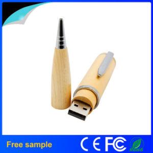 Natural Wooden Pendrive Wood Pen Shape USB Flash Drive pictures & photos