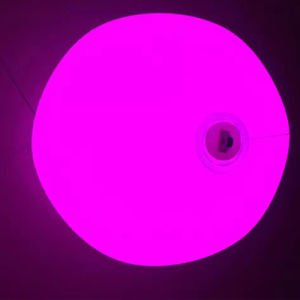 Light-up LED Shiny Beach PVC Ball for Night Pool Party pictures & photos