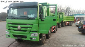 Sinotruk 371HP 10L Engine Tipping Truck pictures & photos