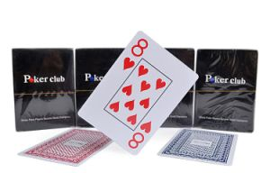 Poker Club 100% New PVC Playing Cards/Plastic Poker pictures & photos