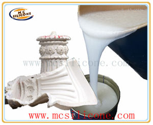 White Liquid Silicone Rubber for Concrete Ornaments Mold Making pictures & photos