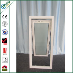 PVC Double Glazing Awning Windows Plastic Residential Windows pictures & photos