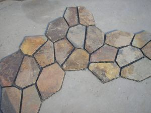 Crazy Shape Cutural Stone Slate pictures & photos
