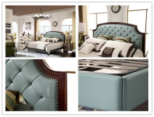 The Bedroom Furniture Leather Bed (JBL2013) pictures & photos