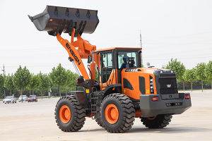 Chinese Construction Machinery 5 Ton Wheel Loader Ensign Yx655 with Mechanical Control pictures & photos