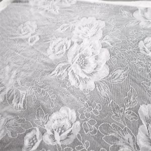 Wholesale Nylon Polyester Spandex Blend Net Textile Lace Fabric pictures & photos