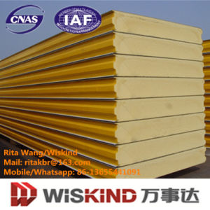Heat Insulation PU Sandwich Panels/SIP Polyurethane Panel Sandwich for Prefab pictures & photos