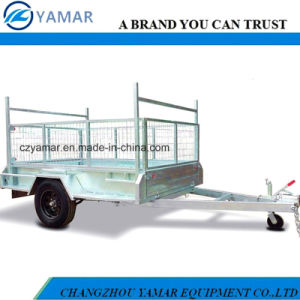 Single Axle Cage Trailer pictures & photos