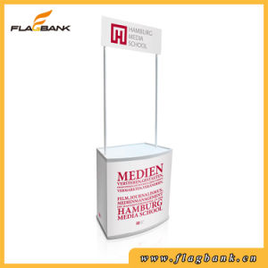 Exhibition Plastic Portable Promotion Counter, Pop up Counter pictures & photos