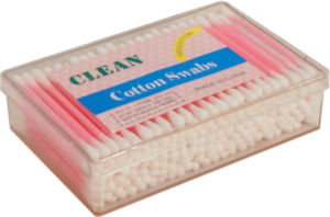 Disposable Sterile Plastic Stick Infant Baby Cotton Swabs for Cleaning pictures & photos