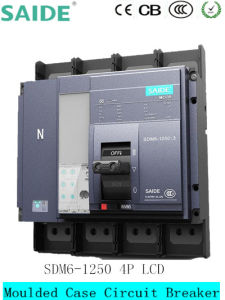 4p Moulded Case Circuit Breaker MCCB pictures & photos