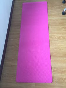 Anti-Static Custom TPE Yoga Mat Design pictures & photos