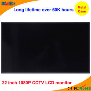 22 Inch 1080P Display Panel CCTV LCD Monitor pictures & photos