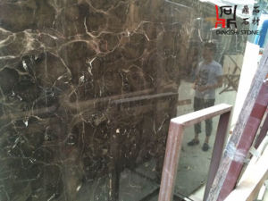 China Emperador Dark Cheap Price Marble Slabs for Building Material pictures & photos