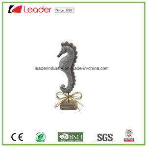 Polyresin Decorative Shell Figurine with a Black Base for Home Decoration pictures & photos