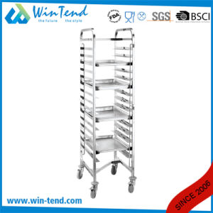 Latest Design Commercial Gn Gastronorm Pan Kitchen Storage Cooling Rack Stackable Trolley pictures & photos