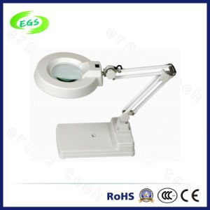 Height Adjustable Optical High-Definition Magnifier with Lamp/Optical Clamps Magnifier pictures & photos