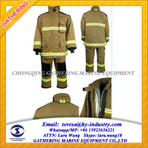 Europe Standard En469 Fireman Uniform Fire Suit pictures & photos