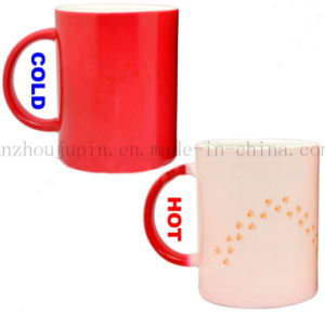 Custom Creative Magic Color Change Ceramic Mug for Promotional Gift pictures & photos