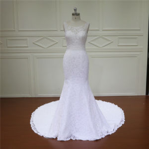 Mermaid Bridal Gown Long Tail Dress 2017