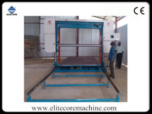 Automatic Horizontal Flexible Foam Cutting Machine with Press-Roller pictures & photos