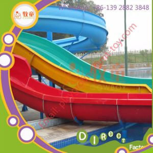 Used Fiberglass Water Slide for Sale Hot/Cheap Selling Amusement Park pictures & photos