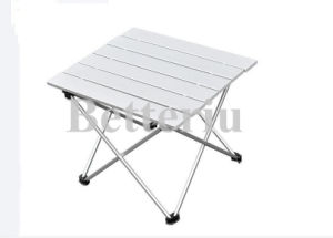 Small Portable Folding Aluminum Picnic Table pictures & photos