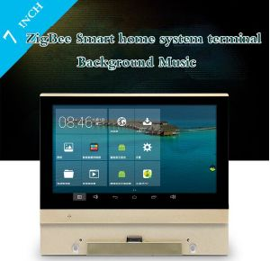 7 Inch Zigbee Smart Home Automation System Background Music Host pictures & photos