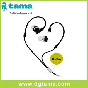 Hi-Res Wonderful Sound Detachable in-Ear Wired Earphone with Microphone pictures & photos