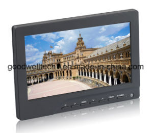 "CE, FCC 400CD/M2 7"" LCD Touchscreen Monitor with VGA, HDMI Input pictures & photos"